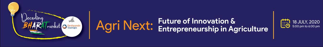 Deshpande Startups, events, Webinar - Healthcare NEXT: Opportunities in Bharat Healthcare